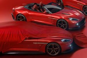 Aston Martin Vanquish Zagato family.