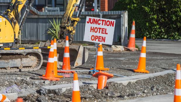 NZTA added this sign to the Junction Hotel and Bar in June.