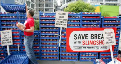 Slingshot campaigned hard for the unbundling of Telecom's phone lines in 2006 and its new owner hopes to pull off a ...