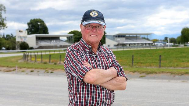 Marlborough Racing Club president Eric Bowers has previously opposed the sale of Waterlea Racecourse land. (File photo)