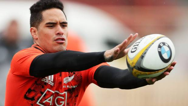Aaron Smith has been training with the All Blacks ahead of the Bledisloe match in Sydney this weekend.