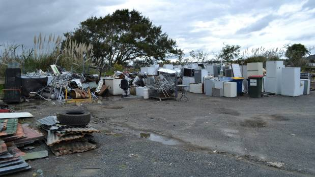 All of these items at the Helensville Recycling Centre are recycled instead of being turned into landfill.