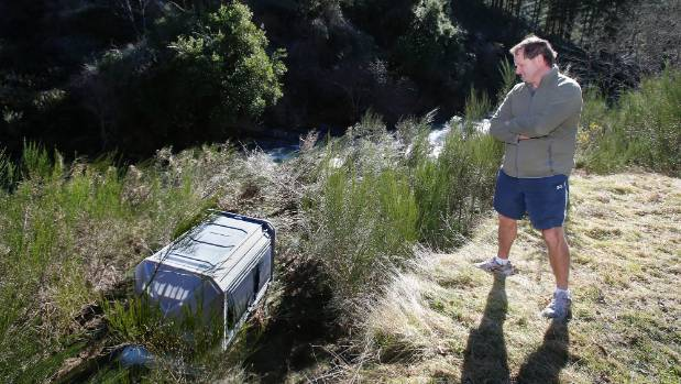 Barry de Wit was surprised to find the missing toilet not far from where it was supposed to be.