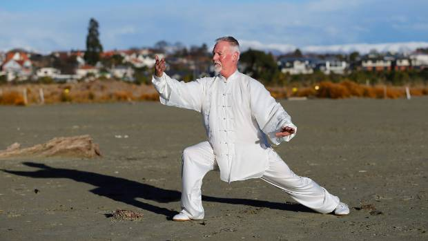 """Tai Chi was an entire holistic """"lifestyle""""  that was good for the mind, body and soul, Thew said."""