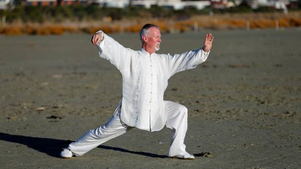 David Thew, 53, will compete in World Kungfu Championships in Emeishan, Sichuan, China from November 7 to 11.
