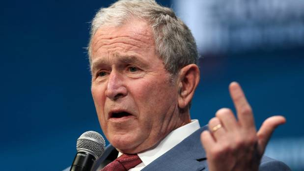 Ex-Presidents Bush and Bush Ask Americans to Reject Racism