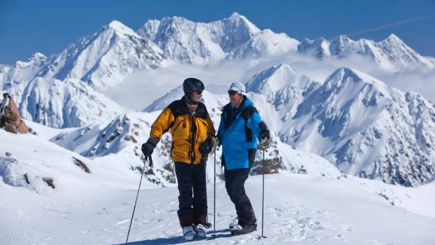 Christof and Britta Wieser have been coming to Methven for over two decades to take advantage of the heliskiing.