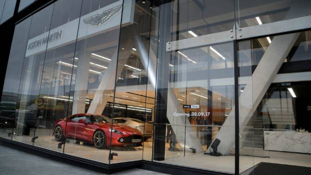 want to see $12m worth of kiwi-owned aston martins in two minutes
