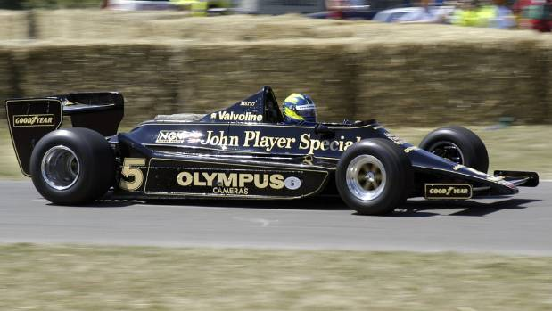 John Player Special association with Lotus started in New Zealand in the 1960s.