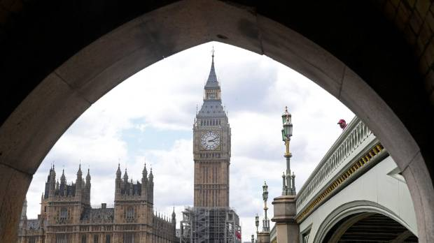 After Big Ben Rings Out, the Sound of Silence in London