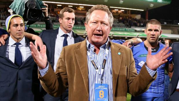 Forrest calls on ARU chairman to quit