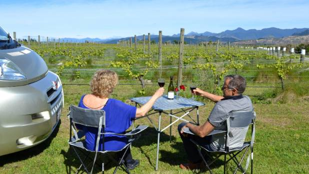 There is even a smartphone app called Campable connecting motorhome tourists with places to stay, including some vineyards.