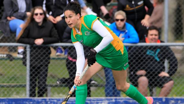 Retired Black Sticks captain Kayla Whitelock will play for Central in the National Hockey League this year.