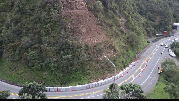A new slip closed the Ngaio Gorge Rd for the second time on Friday. It has since reopened.
