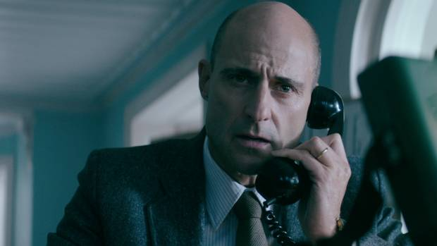 Mark Strong plays hostage negotiator Max Vernon in 6 Days.