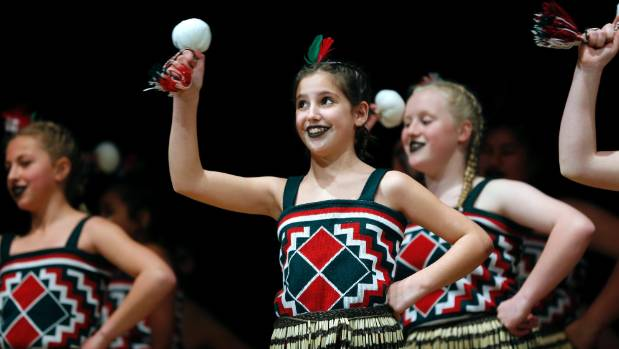 Leila Butler of Ashburton Intermediate School performs at Flava Festival at the Theatre Royal on Friday.
