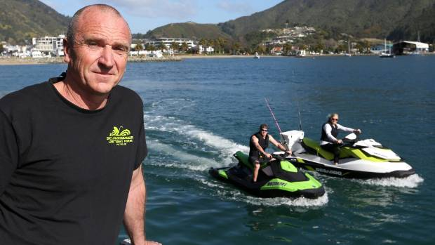 Seamonkeez Jetski Hire owner Mike Stewart supports registration but says it is unfair to single out jet skis.
