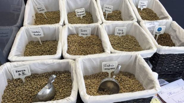 Coffee lovers can walk in off the street, choose a mix of green beans and get them roasted on the spot at The Coffee ...