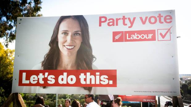 Labour's youngest leader is front and centre on its 'Let's do this' campaign.