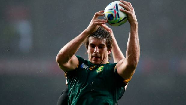 Springboks lock Eben Etzebeth has captained the side to victory in their opening match of the Rugby Championship, ...