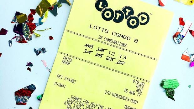 The winning ticket for Wednesday's draw netted a Blenheim family syndicate $1 million.