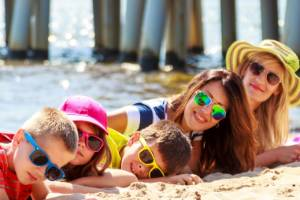 Going on holiday with your friends or family member's kids can be challenging. And rewarding.