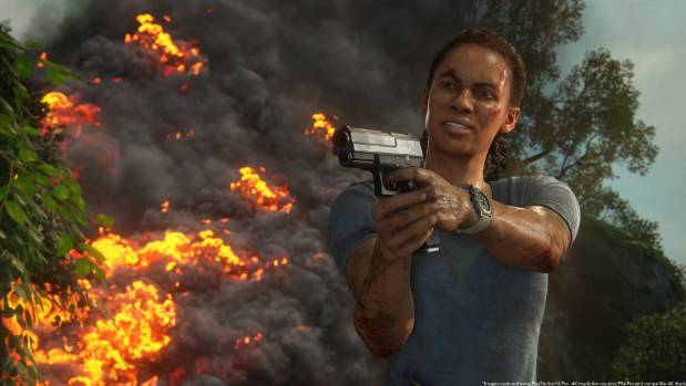 Paramilitary leader turned gun-for-hire Nadine Ross reprises her role from Uncharted 4 in the latest installment.