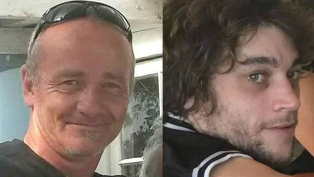Raymond Fleet, left, and his nephew James both went missing from a Bay of Plenty township on Monday, August 7.