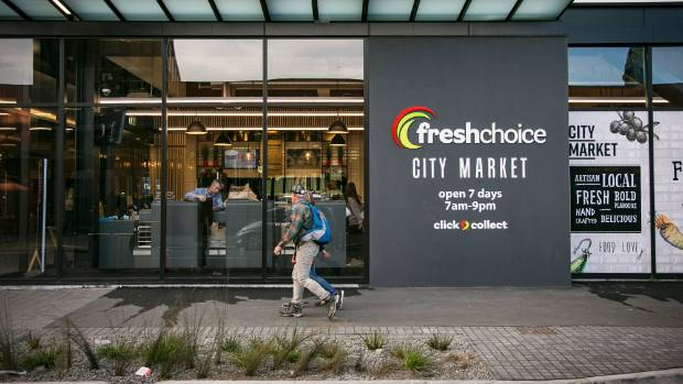 Christchurch CBD's newest supermarket is set to open to the public on Tuesday.