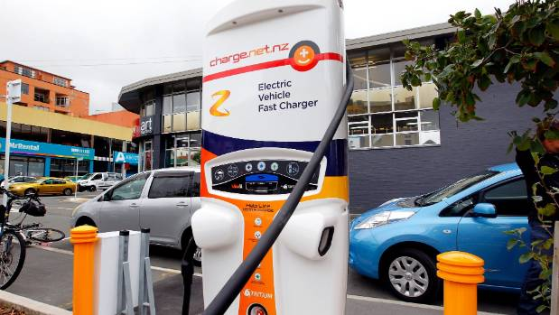 Electric vehicle numbers in Wellington double in a year