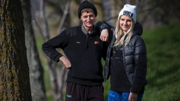 Zoe Dekker will head to Jordan to help Syrian refugees. She is walking 100km with her father, Paul Dekker, to raise money.