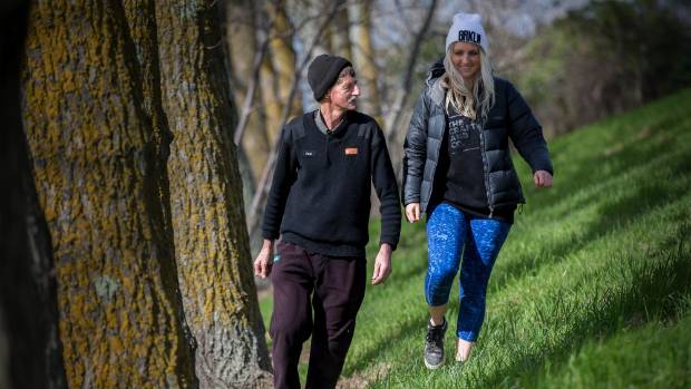 Paul and Zoe Dekker are walking 100km to fundraise money for refugees in Jordan.