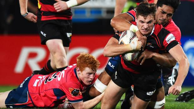 Fullback George Bridge is one of four Canterbury players ruled out of the Ranfurly Shield game against Otago with a virus.