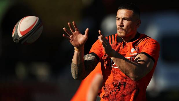 Whatever the Wallabies have to contend with on Saturday, they don't have to cope with Sonny Bill Williams off the bench ...