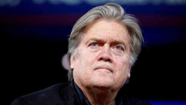 Bannon Says He Will Be Trump's 'Wingman' Outside The White House