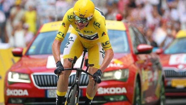 Chris Froome returns failed 'drug' test during Vuelta a España