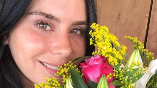 Millie Elder-Holmes shared the news of her break up from Greek boyfriend of more than a year Kostas Saripapas via ...