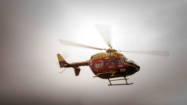 A Westpac Rescue Helicopter was called to help following an incident (file photo).