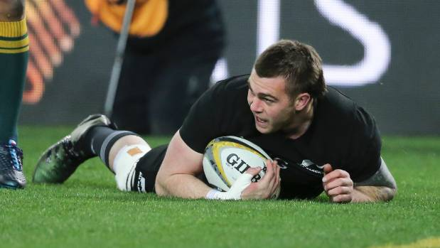 Coles named in All Blacks squad to face Wallabies
