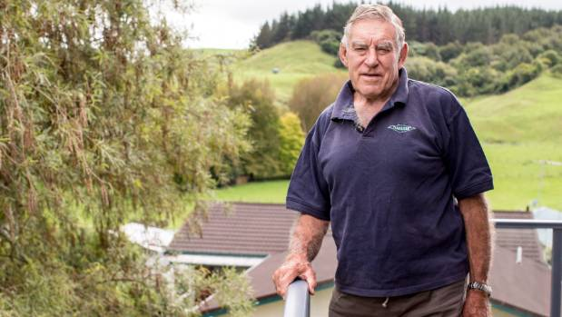 Sir Colin Meads MBE, at home in Te Kuiti in April.