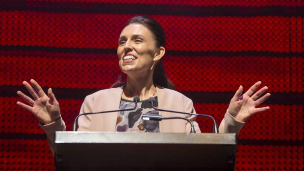 Jacinda Ardern launches Labour's election campaign.