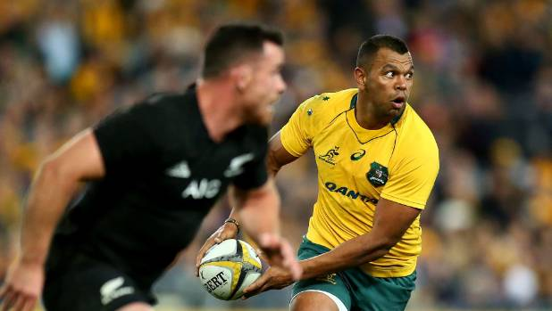 All Blacks down Wallabies in Championship