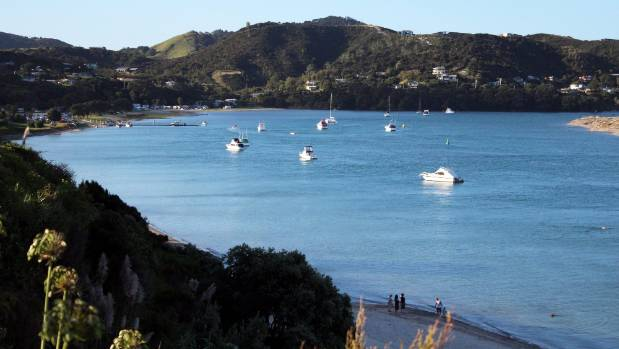 The picturesque Mangawhai Heads estuary draws plenty of residents to the area.