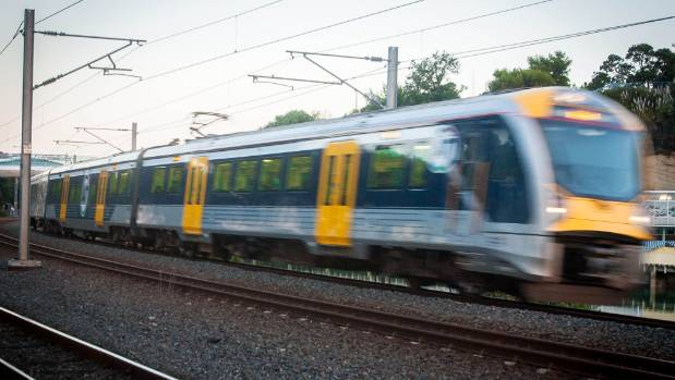 Labour wants to see commuter trains running between the so-called 'golden triangle' of the upper North Island.