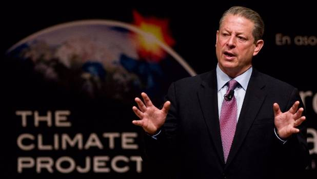 Before making the new documentary, Al Gore gave the filmmakers a 10-hour version of his updated slideshow.