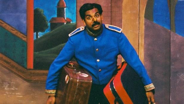 Jacob Rajan in the original version of The Pickle King.