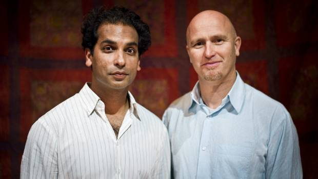 Indian Ink co-founders Jacob Rajan and Justin Lewis.