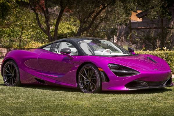 The bespoke McLaren 720S built for US entrepreneur Michael Fux.