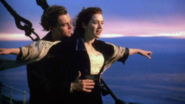 """""""There were times when I was genuinely frightened,"""" Kate Winslet has said of working with director James Cameron on Titanic."""