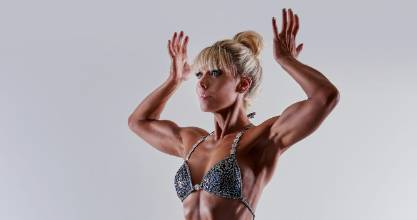 Waikato's Fran Wilson is currently training for the Natural Universe Bodybuilding championships.